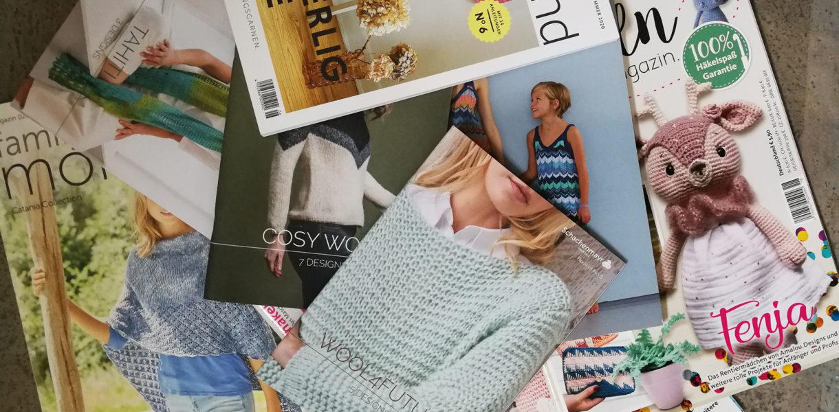 Layout Magazine Handarbeitshefte